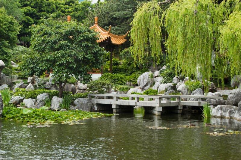 Chinese Garden, SYdney, Australia stock photos