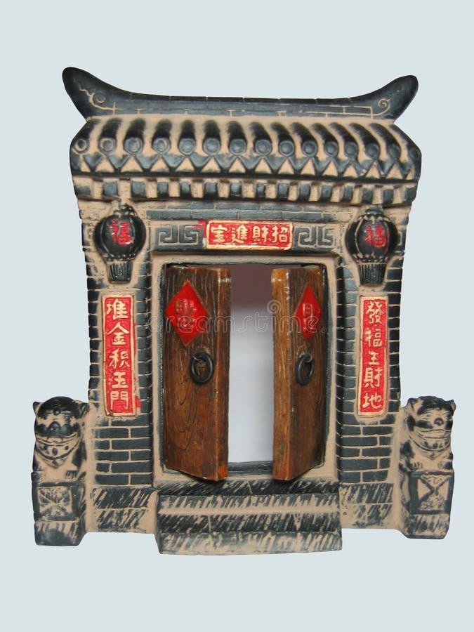 Chinese gates stock photos