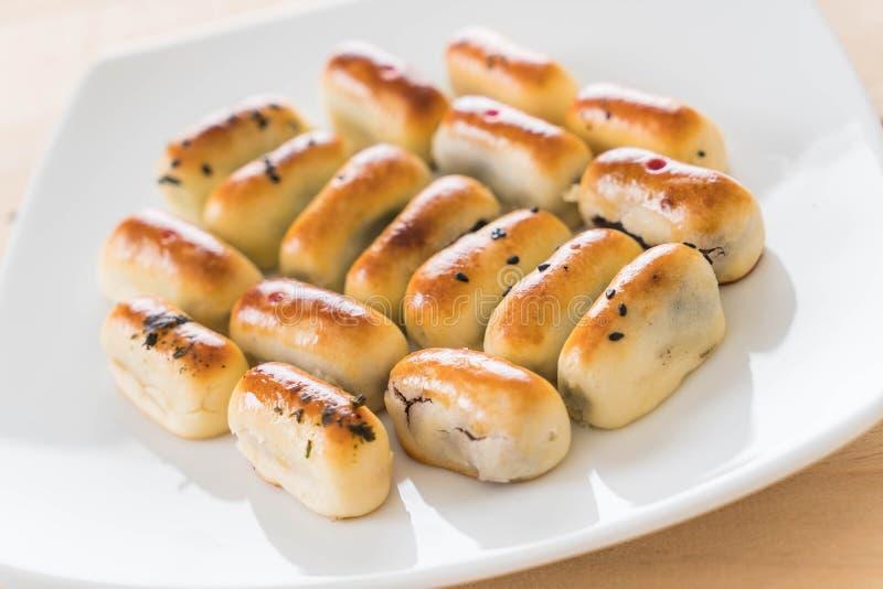 Chinese Gebäck-Mung Bean stockfotos