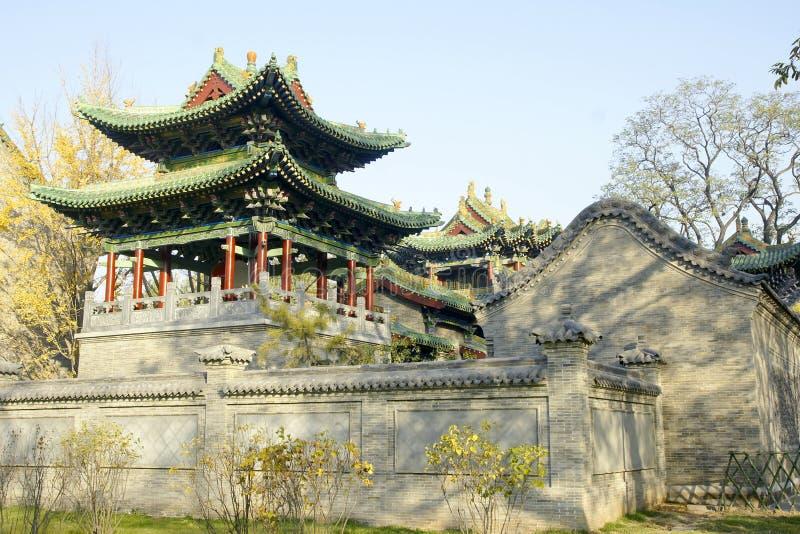 Chinese gebouwen royalty-vrije stock fotografie