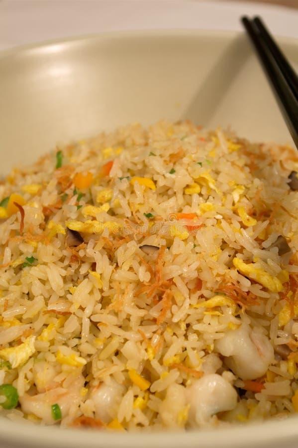 Chinese gebraden rijst royalty-vrije stock afbeelding