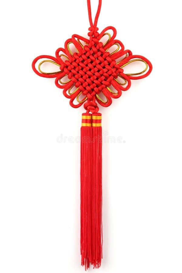 Chinese Gelukkige Knoop royalty-vrije stock fotografie