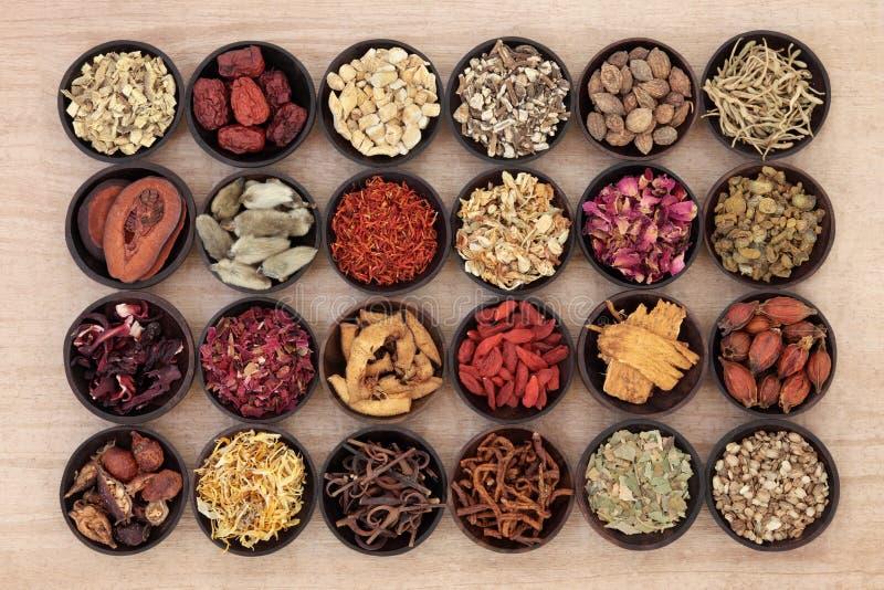 Chinese Geneeskunde stock afbeeldingen