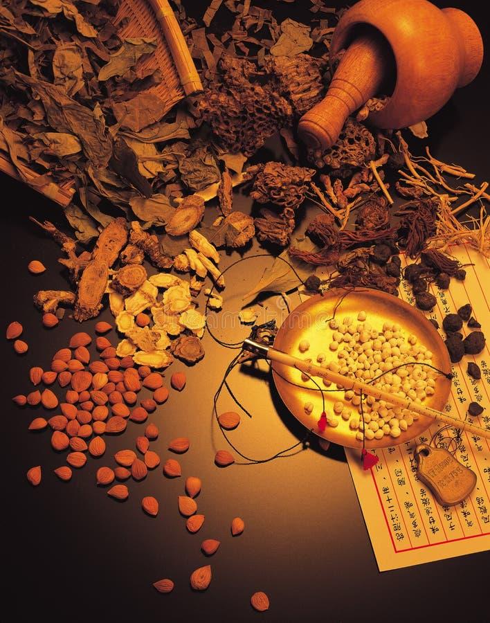 Chinese geneeskunde stock foto's