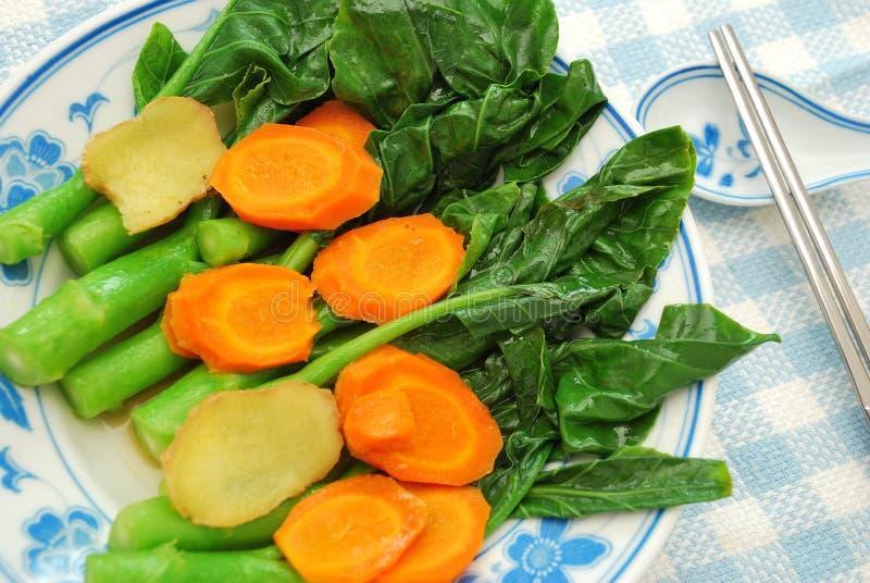 Chinese gezonde Lan Kai groenten royalty-vrije stock fotografie