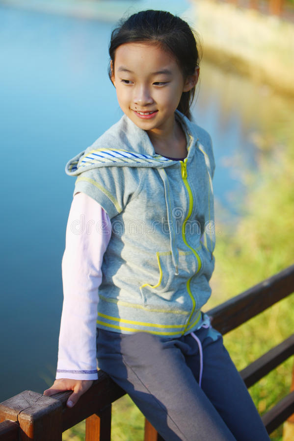 Chinese girl royalty free stock photo