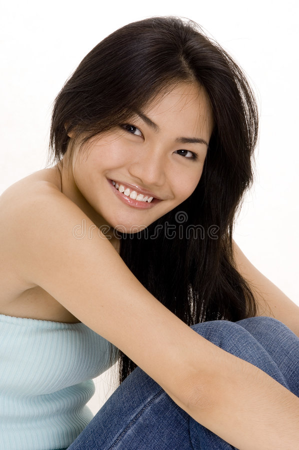 Download Chinese Girl 8 stock photo. Image of woman, happy, model - 410504