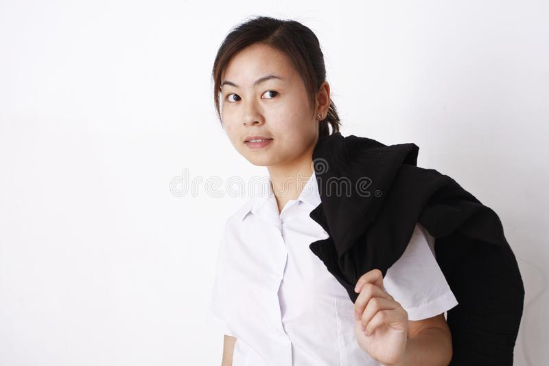 Download Chinese girl stock image. Image of black, chinese, manners - 9310519