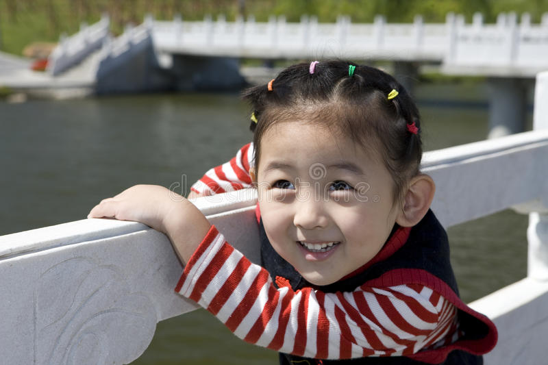 Download Chinese girl with smile stock photo. Image of child, happy - 10830376