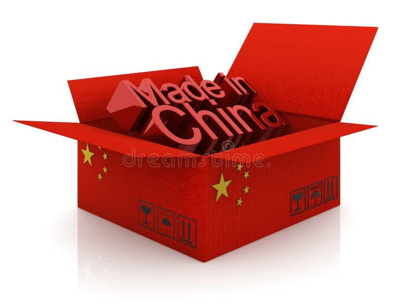 Chinese goederen royalty-vrije illustratie
