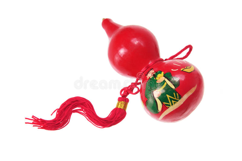 Download Chinese Gourd Decoration stock photo. Image of background - 21693502