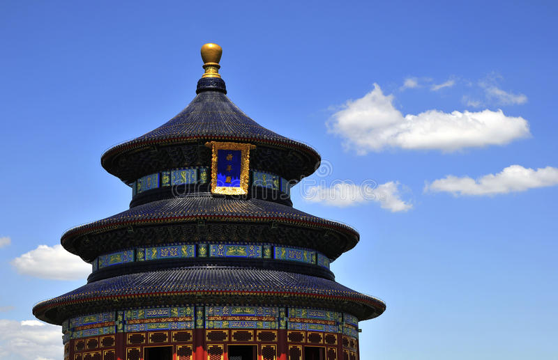 Chinese great pavilion stock photo