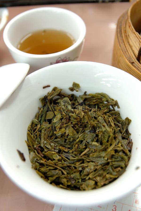Chinese groene thee royalty-vrije stock fotografie