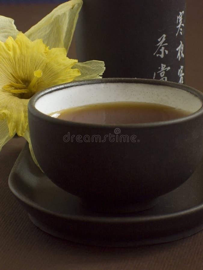 Chinese groene thee III stock afbeeldingen
