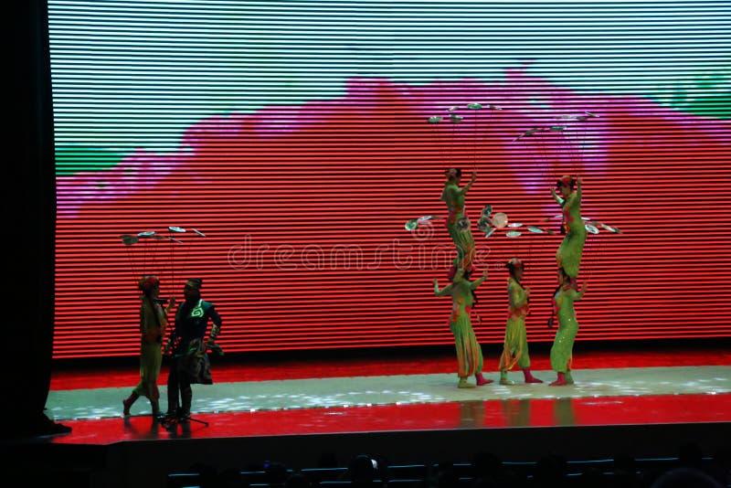 Chinese Gymnastics stock image