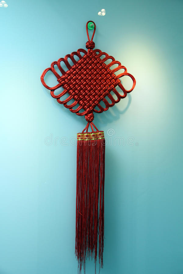 Chinese handicrafts - Chinese knot royalty free stock photos