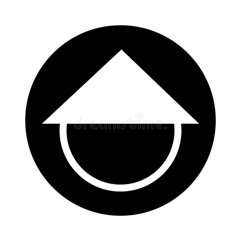 Chinese Hat Culture Icon Stock Vector Illustration Of Protection