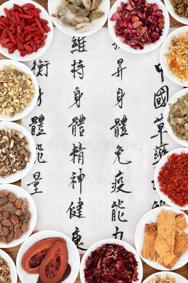 Download Chinese Healing Herbs stock photo. Image of remedy, healthcare - 34352906