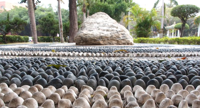 Download Chinese Health Path stock photo. Image of pebbles, chinese - 17980250