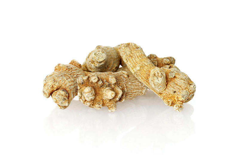 Chinese Herbal medicine - Panax Notoginseng royalty free stock image