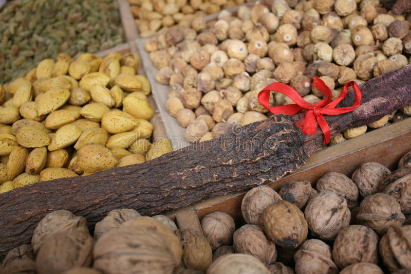 Chinese herbs medicine stock photography