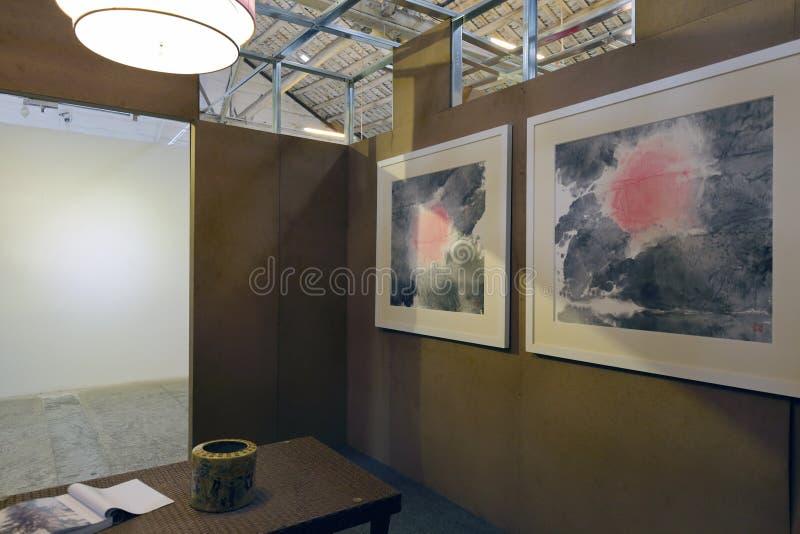 Chinese het schilderen ruimte van redtory, guangzhoustad, China royalty-vrije stock foto's