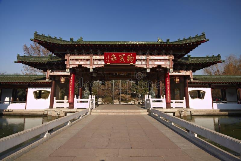 Chinese historische gebouwen royalty-vrije stock fotografie