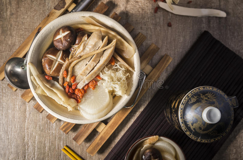 Chinese Hotpot stockfoto