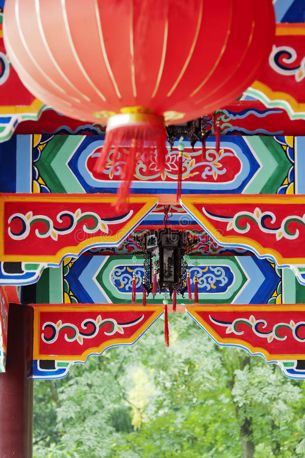 Download Chinese  house stock image. Image of column, blue, landmark - 21396967