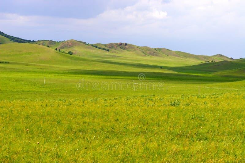 Chinese Inner Mongolia dam prairie stock photos