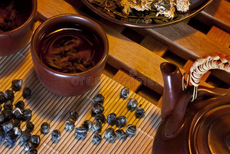 Chinese Jasmine Tea royalty free stock photos