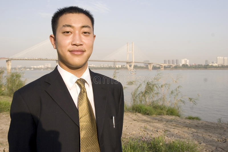 Chinese Jonge Mens Royalty-vrije Stock Foto's