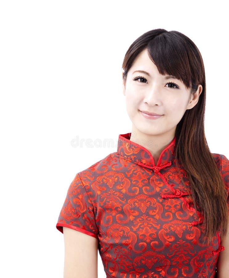 Chinese jonge vrouw stock foto's