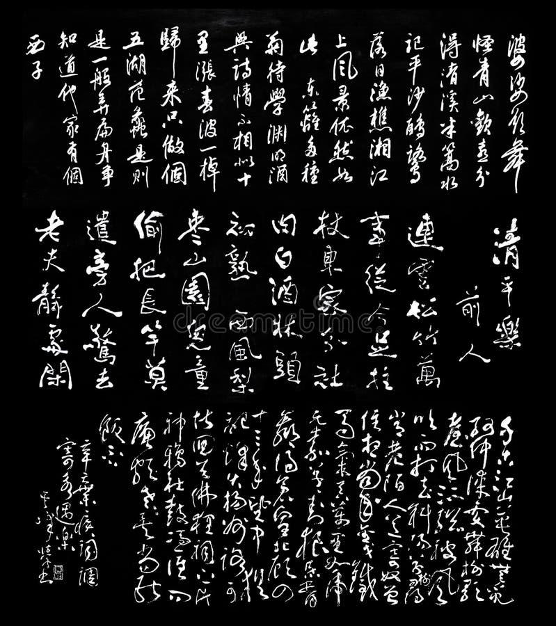 Chinese Karakters royalty-vrije stock foto's