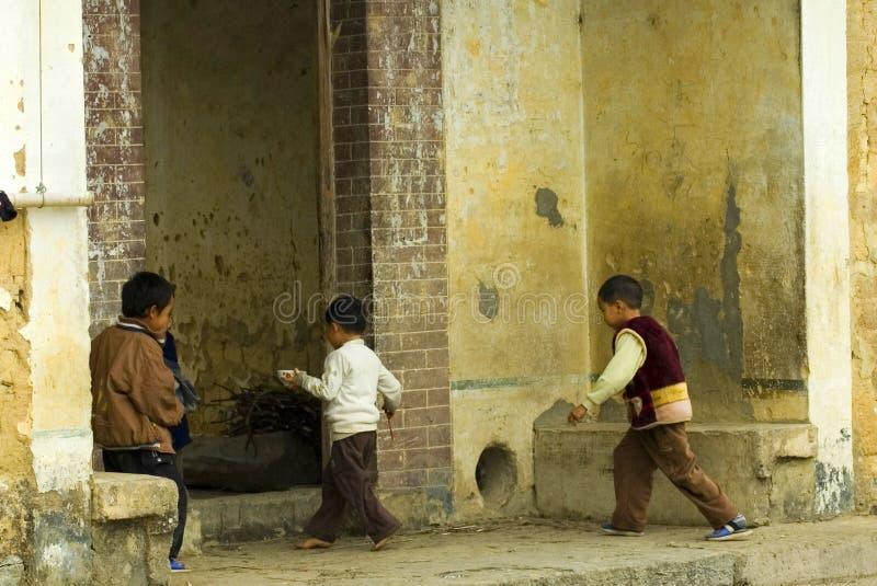 Chinese Kids stock image