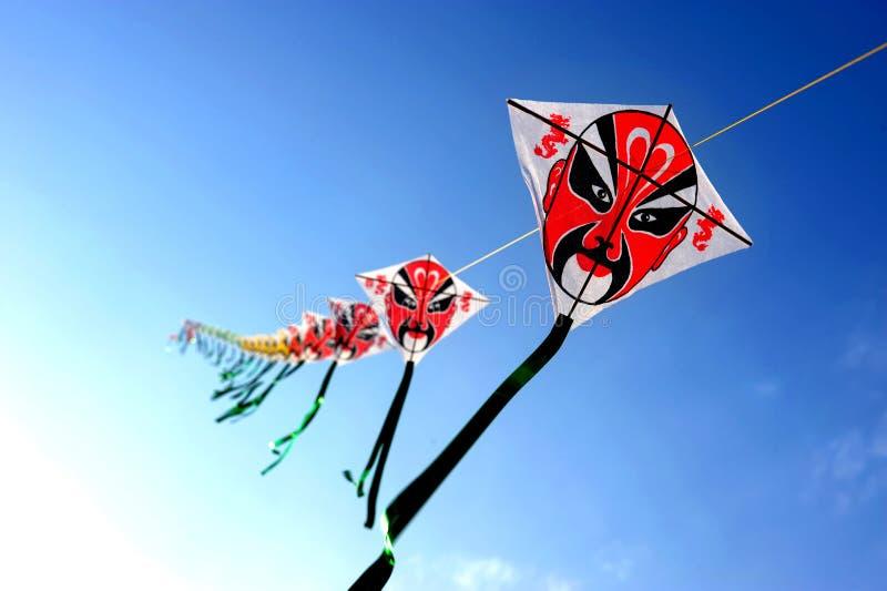 Chinese kite stock photos