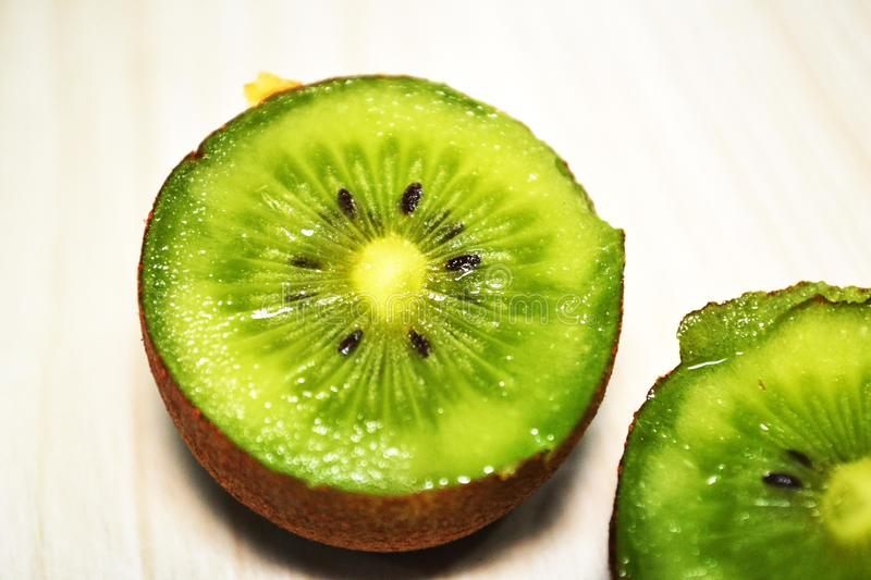 Chinese kiwifruit or Chinese gooseberry stock image