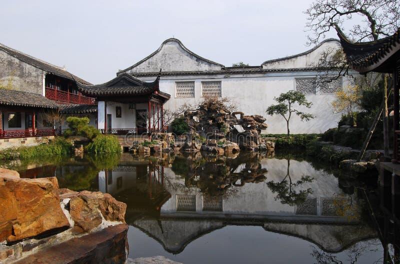 Chinese klassieke tuin royalty-vrije stock foto