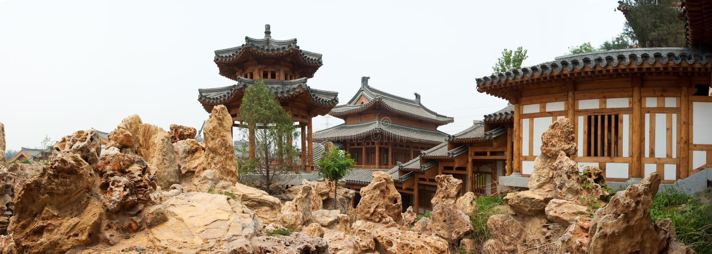 Chinese Klassieke Tuinen royalty-vrije stock fotografie