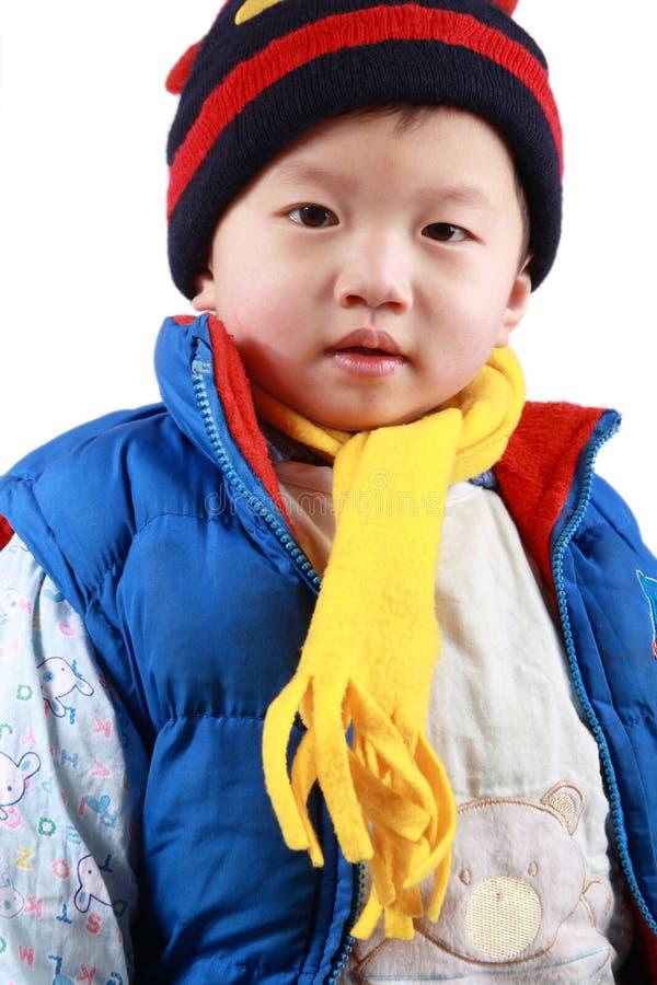 Chinese kleine jongen stock afbeeldingen