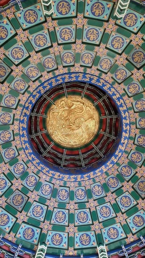 Chinese koepel stock afbeeldingen