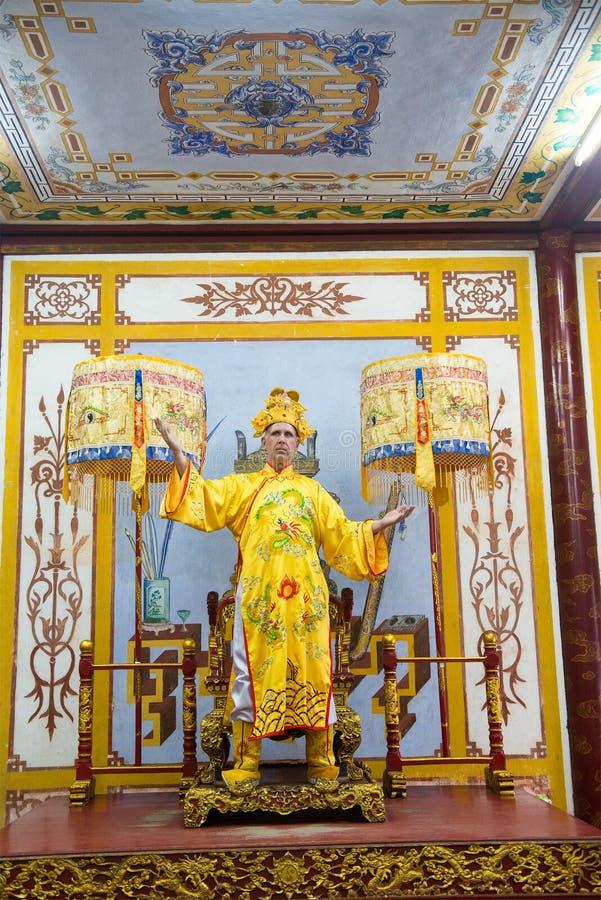 Chinese Koning, Keizer, Heerser, Royalty royalty-vrije stock afbeeldingen