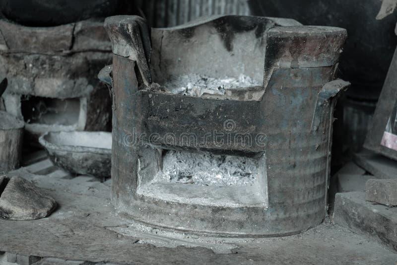 Chinese koperslager stock foto's