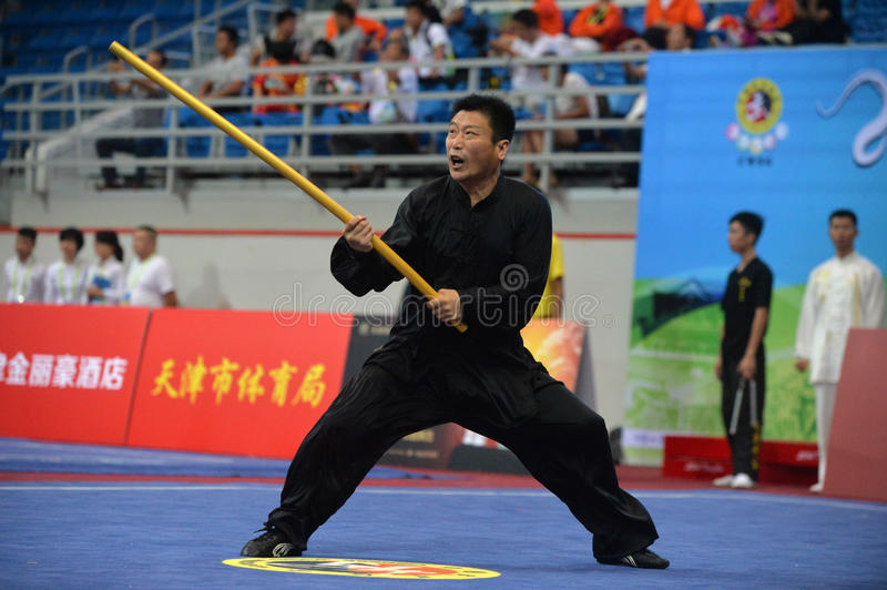 CHINESE KUNGFU, TRUE MARTIAL ARTS stock images