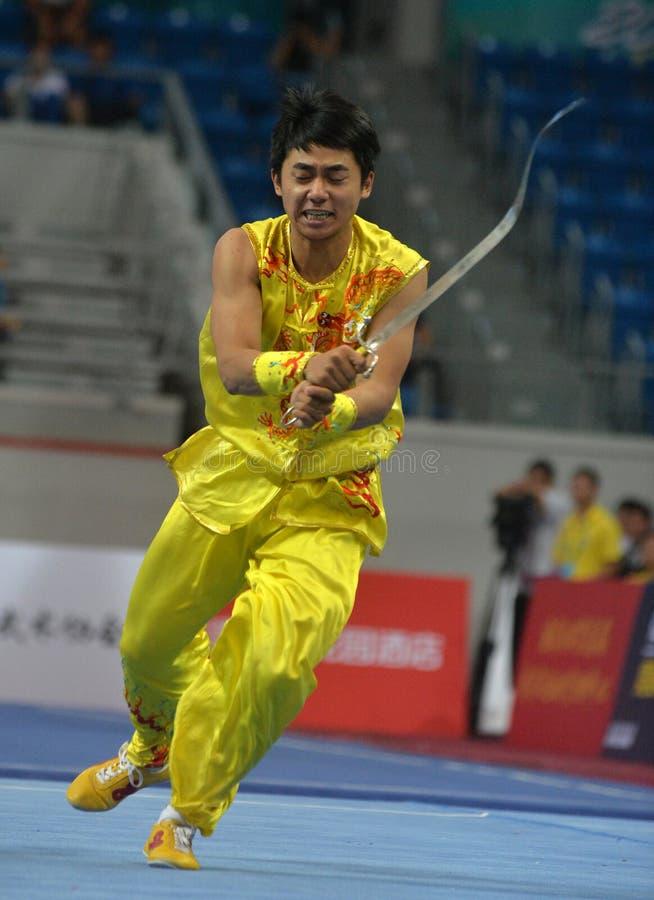 CHINESE KUNGFU, TRUE MARTIAL ARTS stock image