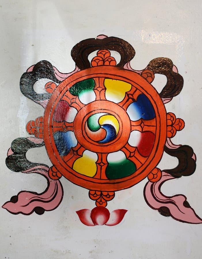 Chinese kunstschilderijen royalty-vrije stock afbeelding