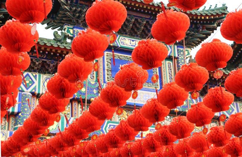 Chinese Lantaarn China royalty-vrije stock foto