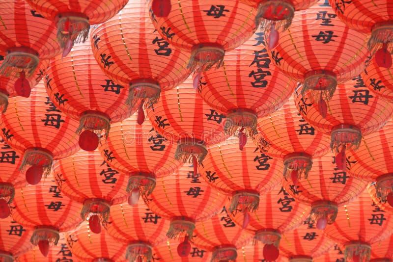 Chinese lantaarns stock foto