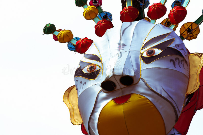 Chinese lantern. @ the Auckland Lantern Festival 2006 New Zealand royalty free stock photo
