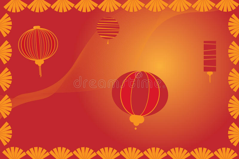 Download Chinese Lantern Background - Vector Stock Vector - Illustration: 12372730